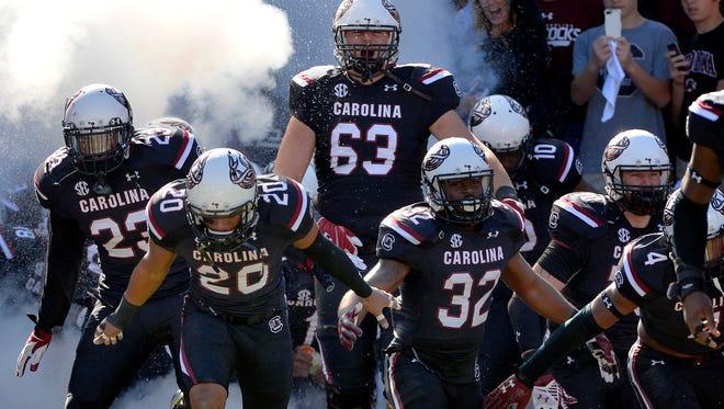 The South Carolina Gamecocks host the Florida Gators at Williams-Brice Stadium in Columbia on Nov. 14, 2015.