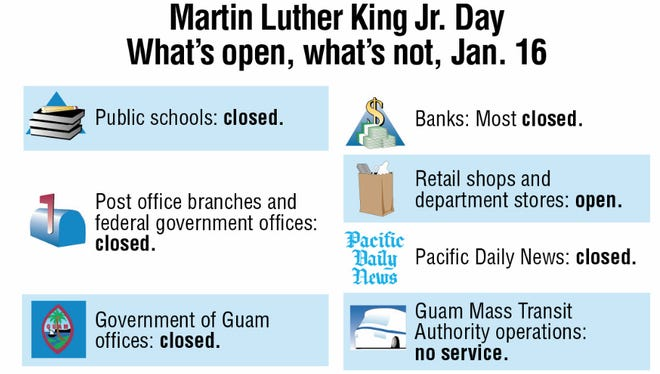 Martin Luther King Jr. Day graphic