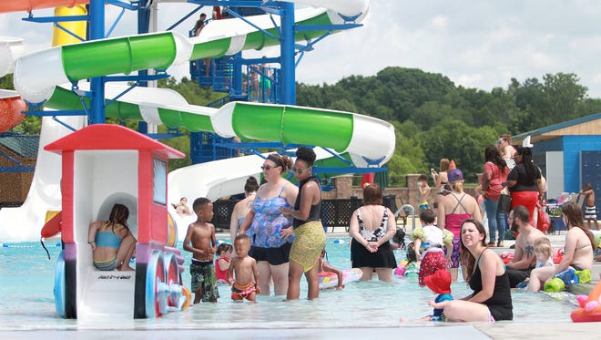 Guests enjoyed opening weekend of the Gallatin's new Tommy Garrott Aquatics Facility on Monday, May 29, 2017.