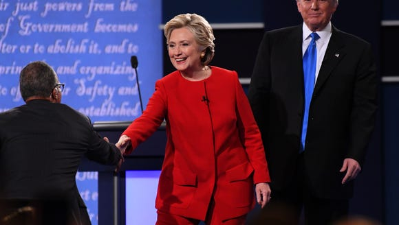 Clinton had the better debate performance, but Trump