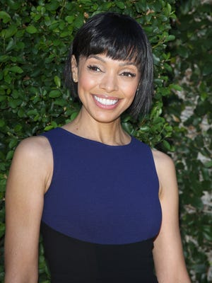 Tamara Taylor arrives at The Rape Foundation's Annual Brunch on Sept. 29, in Beverly Hills.