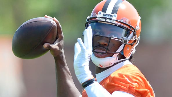 New Browns QB Robert Griffin III has struggled with