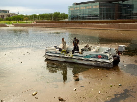 Storms dump town lake headaches on tempe for Tempe town lake fishing
