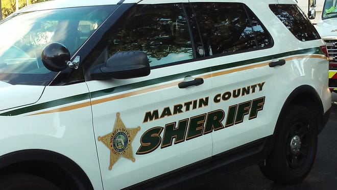 Martin County Sheriff's Office vehicle