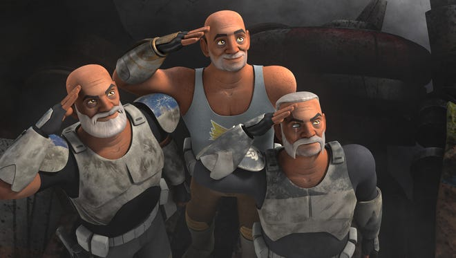 "New episodes of ""Star Wars Rebels"" will catch up with aging Clone Trooper characters from ""Star Wars: The Clone Wars."""