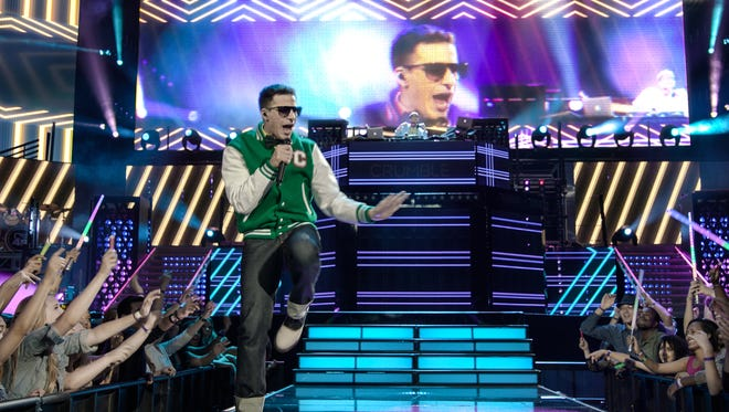 "Andy Samberg  in ""Popstar: Never Stop Never Stopping."""