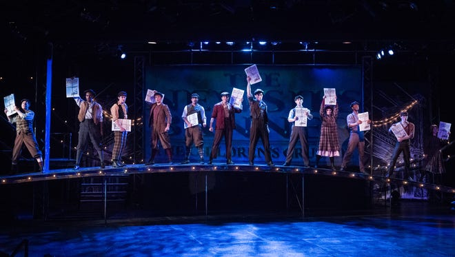 Disney's Newsies. Inspired by the real-life Newsboys Strike of 1899 in New York City, Jack Kelly hawks the headlines day-in and day-out with countless other newsboys trying to save enough to make his dreams a reality.