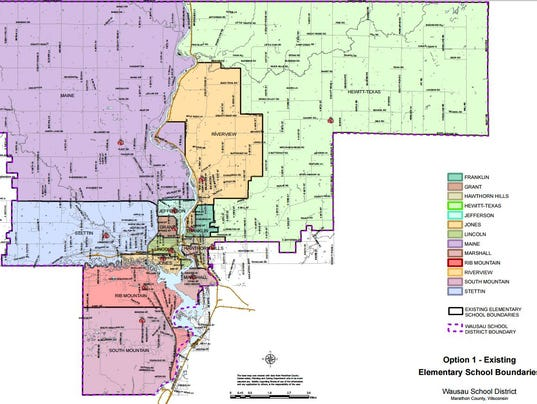 Wausau School Boundaries Face Big Changes