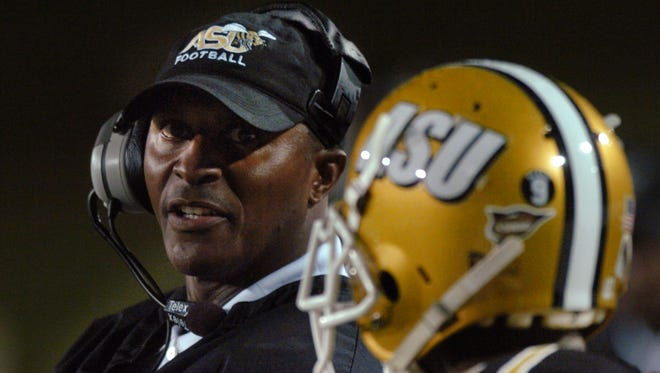 Reggie Barlow, the former Alabama State and NFL receiver, led the Hornets to five consecutive winning seasons. But he had a four-game losing streak last season that included a loss to rival Alabama A&M.