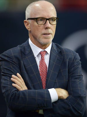 Atlanta Falcons president Rich McKay and the team received discipline for piping in crowd noise during home games.