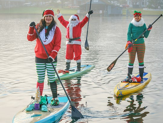 Dressed to the hilt for the holidays, the Gig Harbor