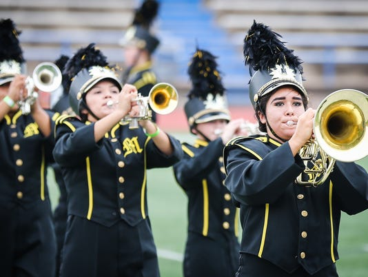 The 2017 Concho Classic Marching Festival