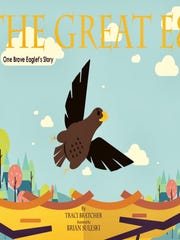 "Book cover of ""The Great E8"" by Traci Bratcher."