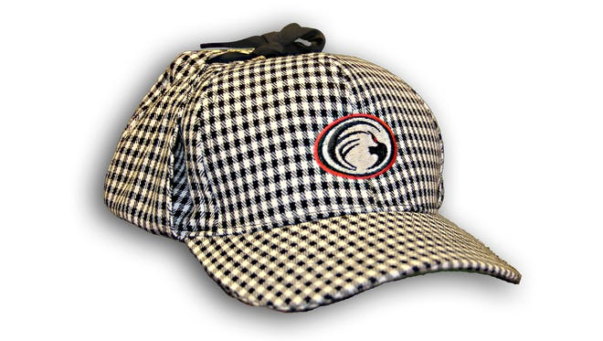 """The Florence Freedom are releasing a special edition """"Sherlock"""" style baseball hat."""
