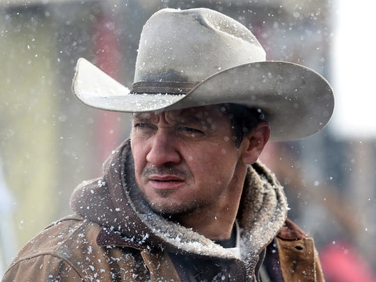 Jeremy Renner stars as a wildlife tracker in the murder mystery 'Wind River.'