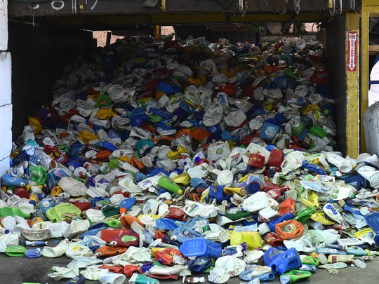 Tropical Recycling in Fort Pierce collects recyclables for the Indian River County Landfill to help Indian River County meet a statewide mandate of a 75 percent recycling rate by 2020.