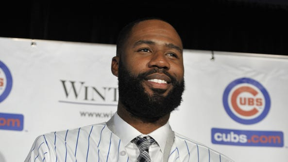 Jason Heyward signed an eight-year, $184 million contract