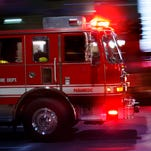 Massive gas line fire in Orion Township burns itself out