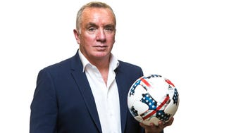 Ian Ayre, new CEO of the Nashville MLS soccer team, is seen in this photo taken Sunday, May 20, 2018, in Nashville, Tenn.