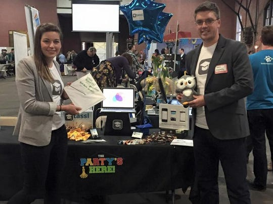 Tassl co-founders Melissa Schipke and James Maxwell made their official debut as a company during Philly Tech Week in April.