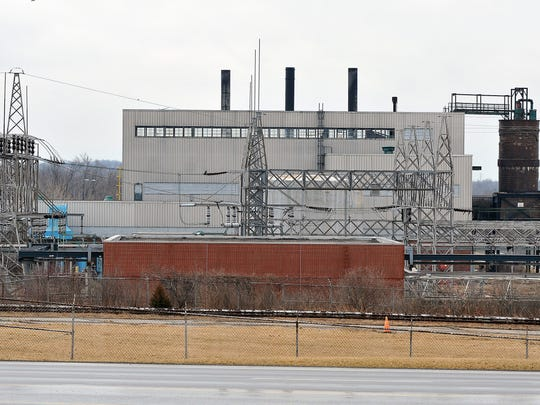 This is the view of the former General Motors plant from West Fourth Street.