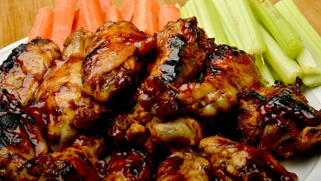 Root Beer Barbecue Wings are perfect for football season, especially if you're stuck at home.