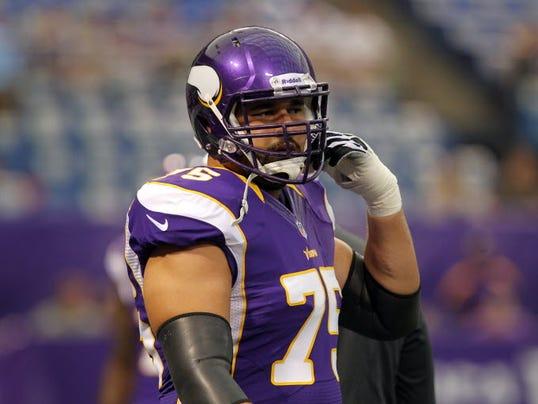 Minnesota Vikings left tackle Matt Kalil