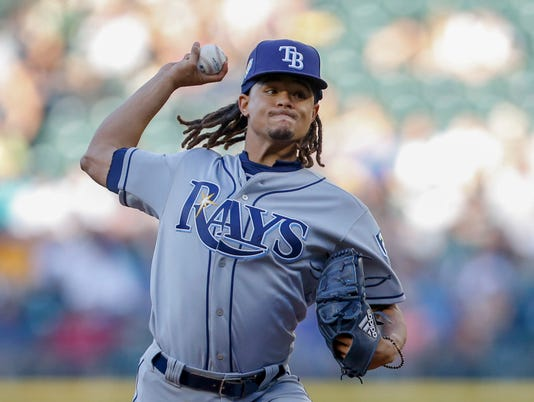 MLB: Tampa Bay Rays at Seattle Mariners