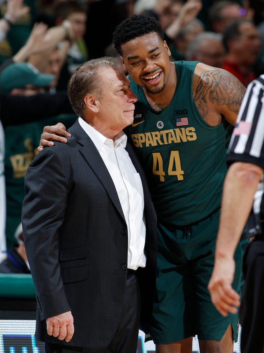 Tom Izzo, Nick Ward, Spartans