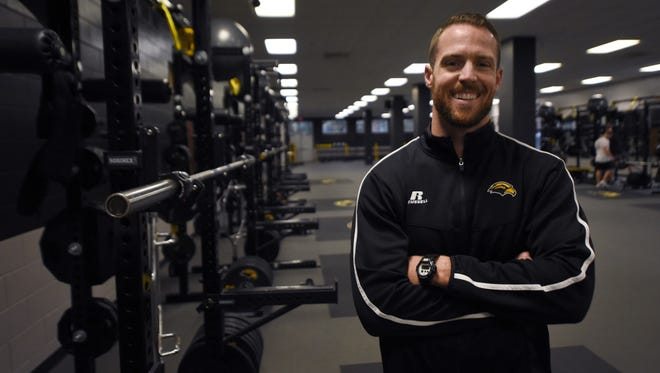 Zac Woodfin, Southern Miss' director of sports performance, will serve as interim athletic director until the university finds a permanent replacement for Bill McGillis, who resigned Monday.
