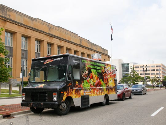 The From Scratch food truck will be at the Food Truck