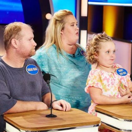 "Mama June Shannon and Sugar Bear Thompson, parents of reality show darling Alana ""Honey Boo Boo"" Thompson, have separated."
