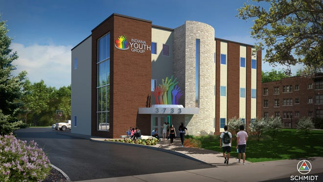 Indiana Youth Group will move into this building at 38th and Meridian streets once fundraising and remodeling are complete. IYG offers programming for  lesbian, gay, bisexual and transgender youth.