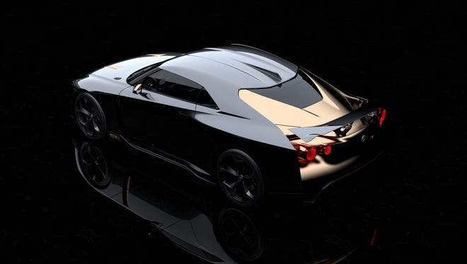 it commemorates the 50th anniversaries of both the GT-R and Italdesign.