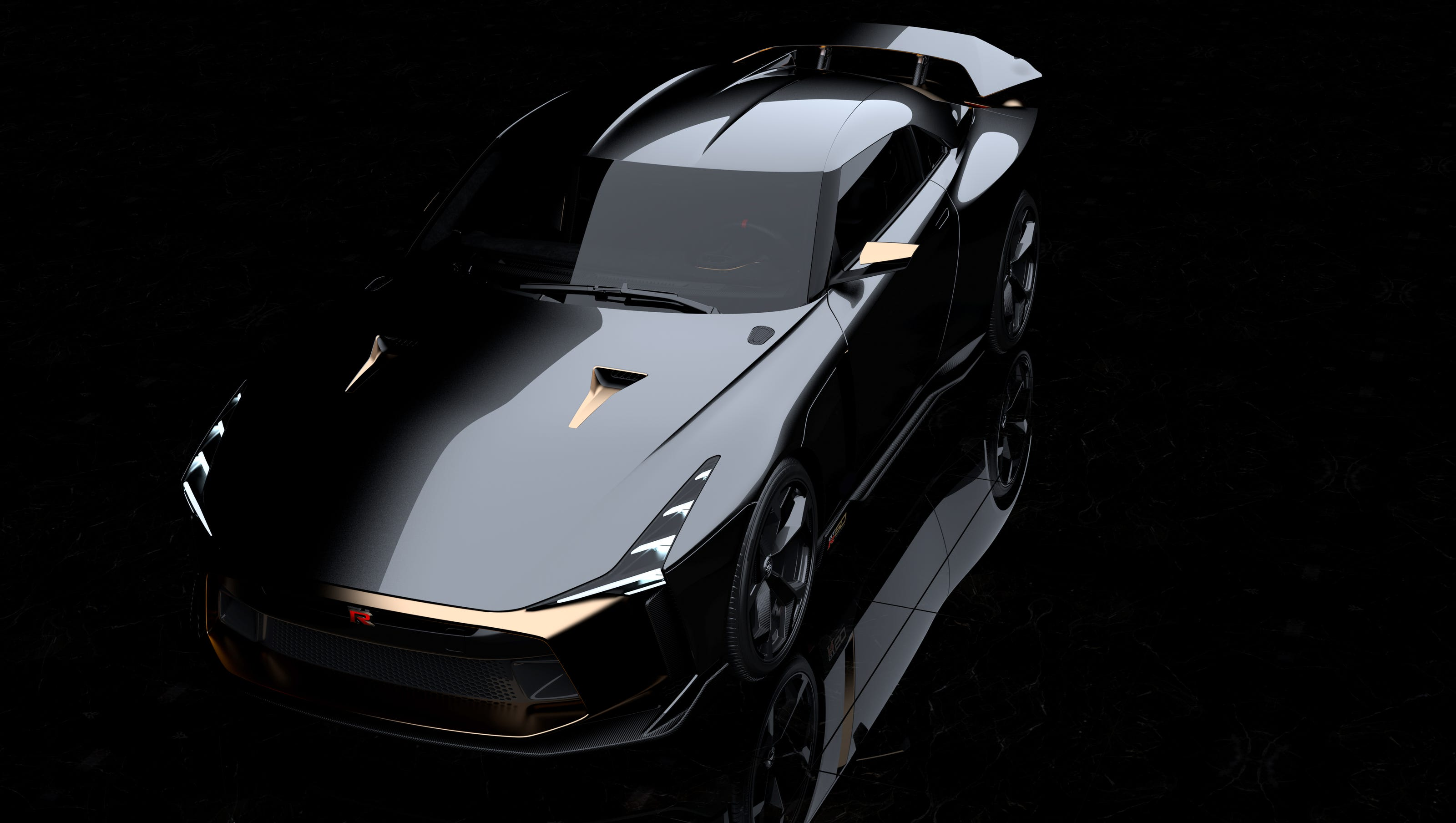 Gtr R36 Concept >> Nissan injects Italian design into sports car concept, creating the GT-R50