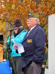 David Bruley, commander of the VFW Post 758 in St.