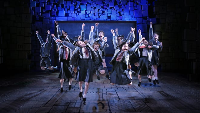 """Matilda the Musical,"" the 2013 Broadway hit based on a 1988 children's novel by Roald Dahl, is due March 9-20, 2016, at the Fisher Theatre."