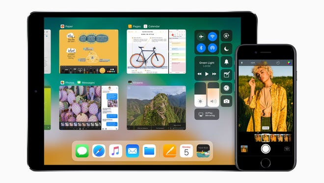 iOS 11 adds features on both the iPad and iPhone