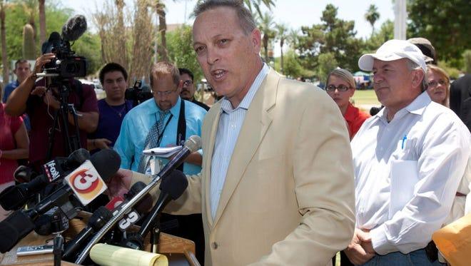 Andy Biggs is president of the Arizona Senate.