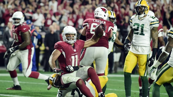 Larry Fitzgerald scored winning TD on first possession.
