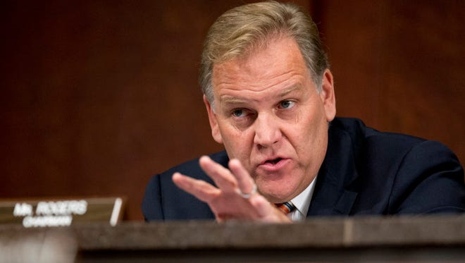 The FBI Agents Association has endorsed Mike Rogers, a former member of Congress, to be the next FBI director.