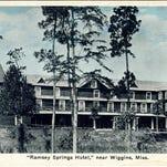 From Ramsey Springs Hotel, near Wiggins, Miss.