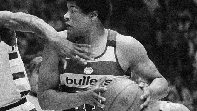 Wes Unseld was a tenacious rebounder during his 13 seasons with the Washington franchise.