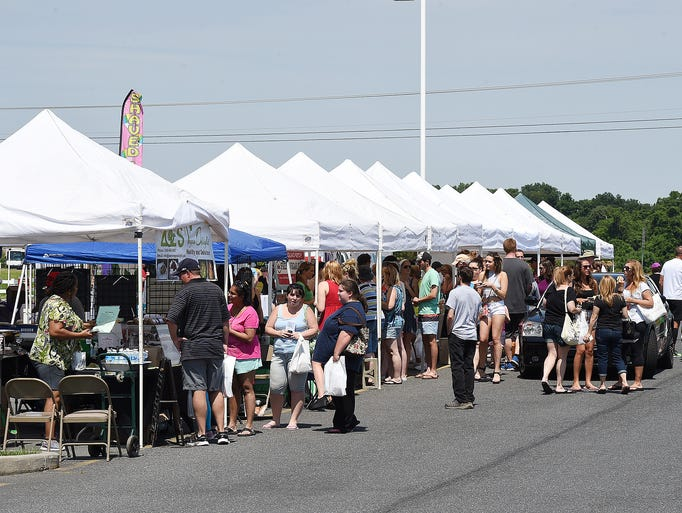 """Great weather brought out a good crowd at """"Veggie Fest"""""""