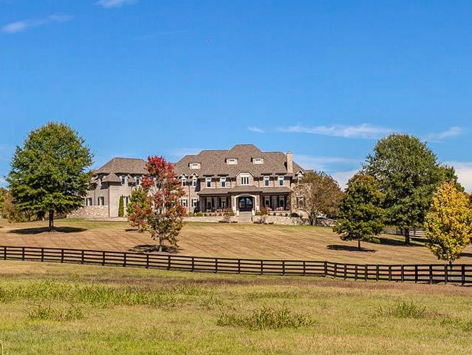Sheryl Crow's former Williamson County estate for sale