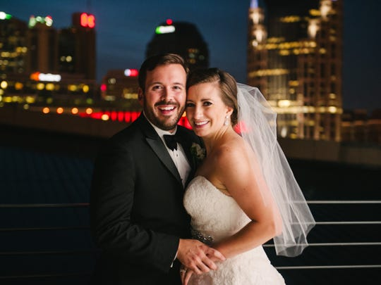 Lindsay and Matthew Parriott married July 11, 2015,