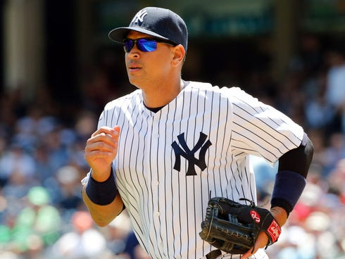 Alex Rodriguez was the only player who didn't accept his suspension.