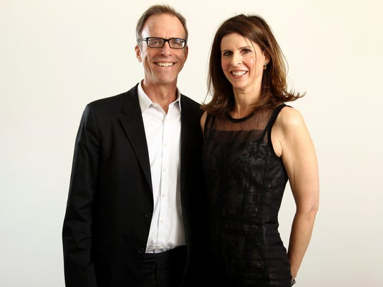 Oscar nominees Kirby Dick, left, and Amy Ziering are