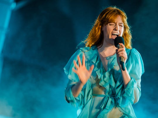 Florence Welch of Florence and the Machine performs