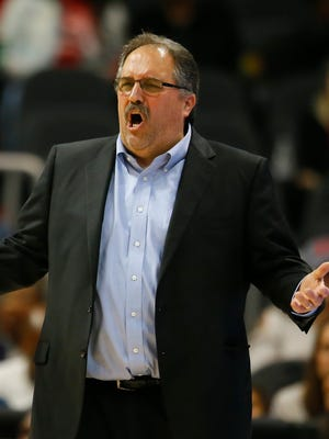 Stan Van Gundy is out as Pistons coach.